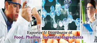 List of Pharma Ingredients Suppliers in India