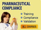 Pharma Compliance & Validation Training / Education Courses