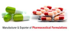 List of Pharmaceutical Formulations Suppliers in India
