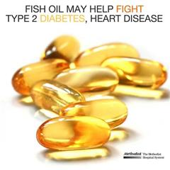 Fish Oil may help fight against Type 2 diabetes