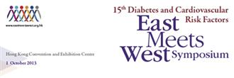 15th Diabetes & Cardiovascular Risk Factors - East Meets West Symposium