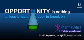 PharmaLytica Exhibition & Conference 2014