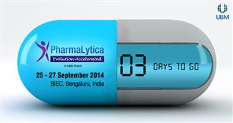 PharmaLytica Exhibition & Conference 2014 - 3 Days to Go