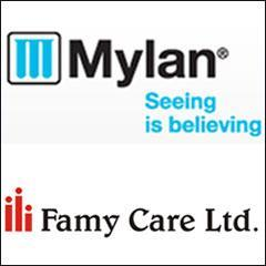 Mylan Inc to acquire Famy Care's businesses for $800 mn
