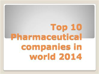 Top 10 Pharma Companies in Pune