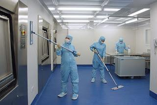 Clean Room System in Sterile Pharmaceutical