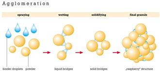 Granulation & Particle-Bonding Mechanism Process