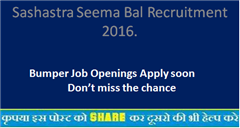Pharmacists Jobs in SASHASTRA SEEMA BAL - Government of India