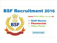 Required Pharmacists (35 posts) in BSF | Government Job