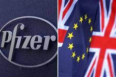 Pfizer will close two U.K. plants, cut 370 jobs