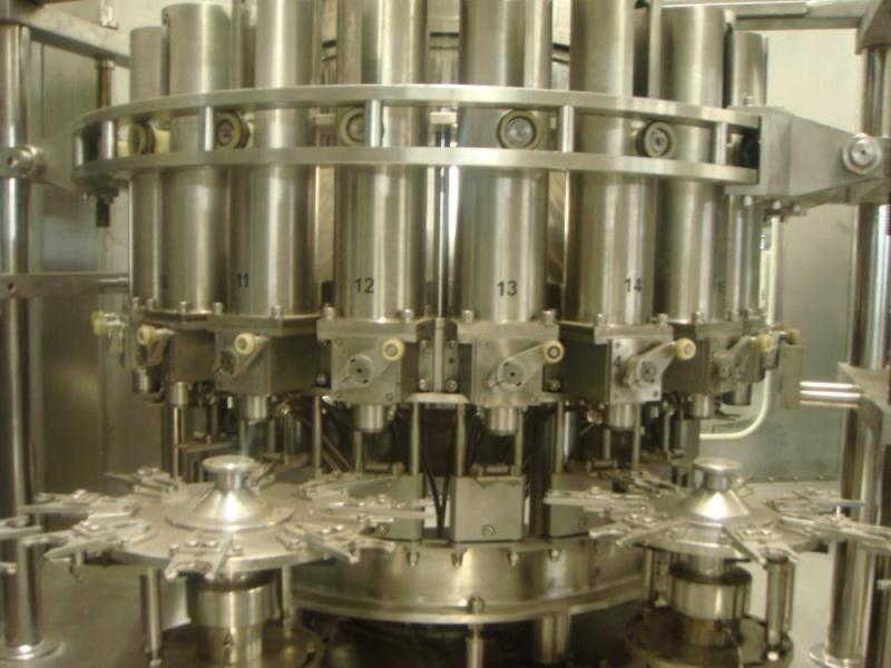 High Speed Rotary Piston Filler with Rotary Valves