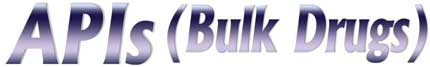 Pharma Bulk Drugs/API's Suppliers