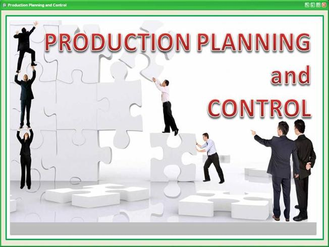 how to do production planning and control An excellent handbook for operations managers, production control workers, inventory control employees, and those involved in supply chain, logistics, and materials management read more product details.