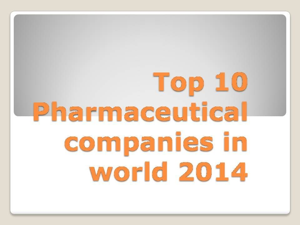 Top 10 Pharma Companies in Pune | Pharma Companies