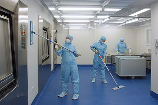 Pharmaceutical Manufacturing Clean Rooms