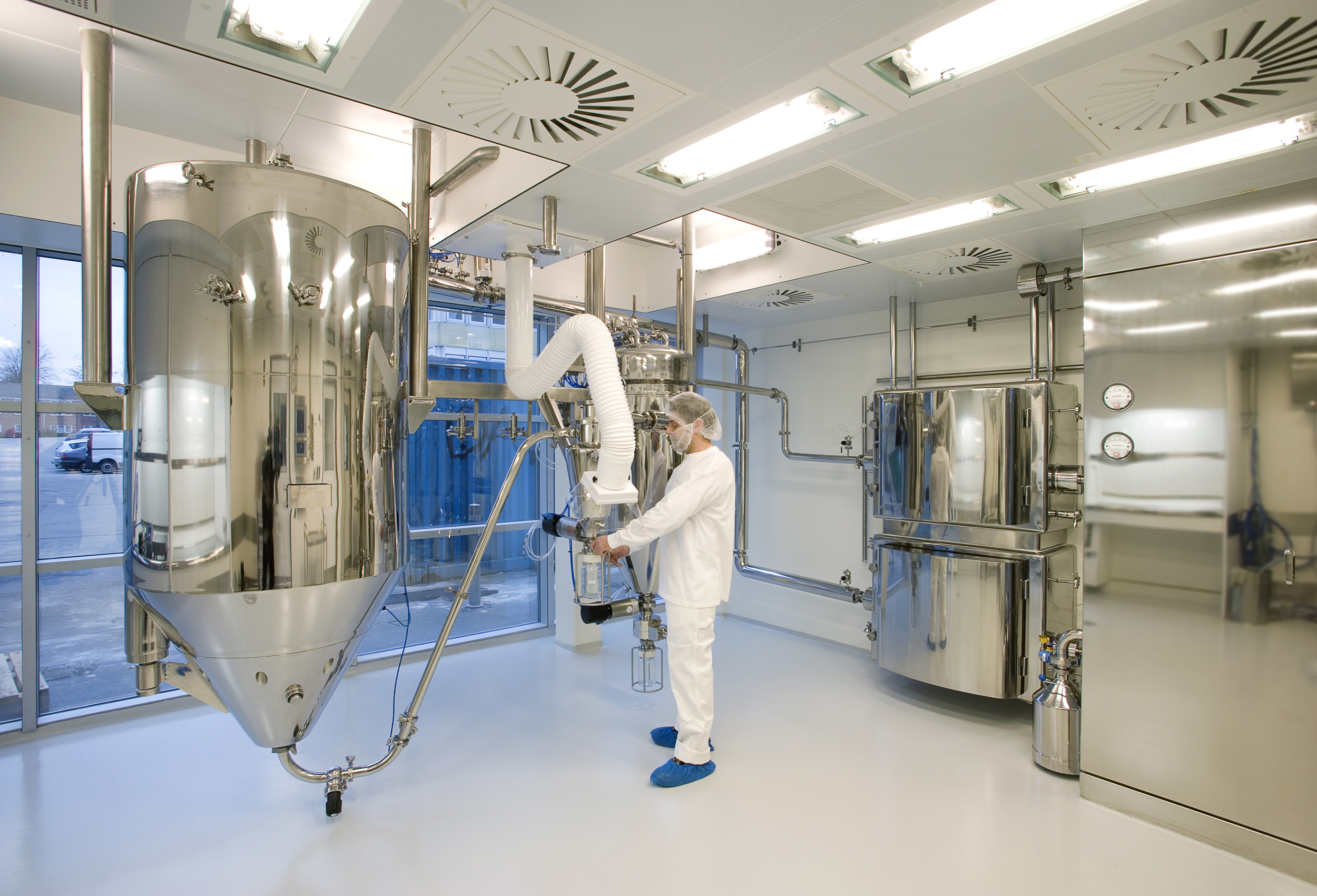 Clean room classification in pharmaceutical production for Apartment design process